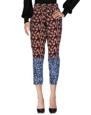Повседневные брюки ELIZABETH AND JAMES. Цвет: красно-коричневый