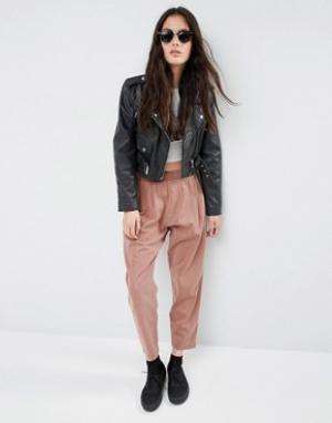 ASOS Зауженные брюки-галифе в стиле casual от. Цвет: оранжевый