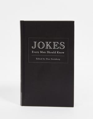 Books Книга Jokes Every Man Should Know Book. Цвет: мульти