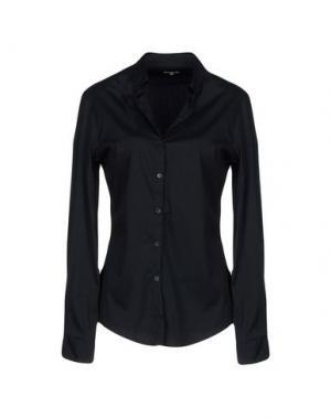 Pубашка HENRY COTTON'S. Цвет: темно-синий