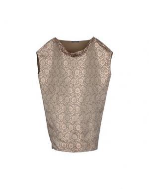 Блузка ANDREATURCHI. Цвет: хаки