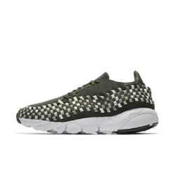 Мужские кроссовки  Air Footscape Woven NM Nike. Цвет: оливковый