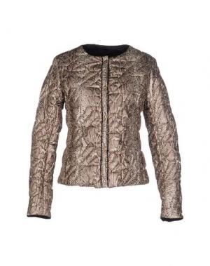 Куртка NVL__NUVOLA. Цвет: зеленый-милитари