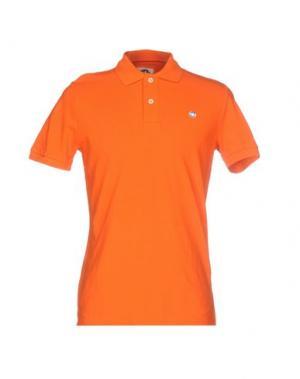 Поло MURPHY & NYE. Цвет: оранжевый