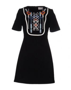 Короткое платье PETER PILOTTO. Цвет: черный