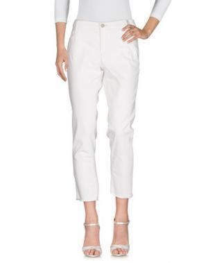 Джинсовые брюки THOMAS RATH. Цвет: белый