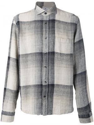 Рубашка с косым воротником Inis Meáin. Цвет: телесный