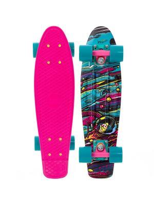 Комплект лонгборд ORIGINAL 22 LTD (SS) PENNY. Цвет: голубой, розовый