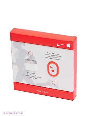 Прибор NIKE+ SENSOR/RECEIVER KIT Nike. Цвет: черный, белый