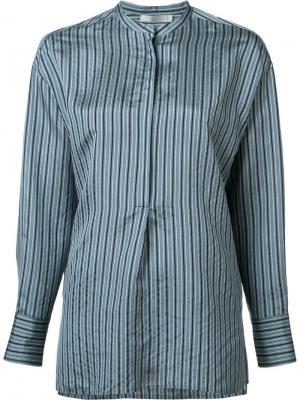 Полосатая блузка Vince. Цвет: синий