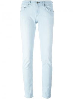 Прямые джинсы Rag & Bone /Jean. Цвет: синий