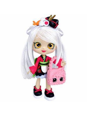 Кукла Shopkins Сара-Суши с аксессуарами Moose. Цвет: розовый