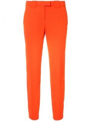 Зауженные классические брюки Barbara Bui. Цвет: красный