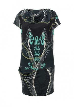 Платье D.VA. Цвет: разноцветный