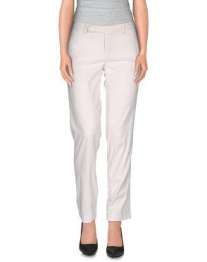 Повседневные брюки DEKKER. Цвет: белый