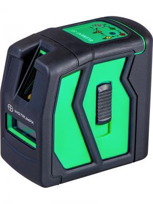 Построитель лазерных плоскостей INSTRUMAX ELEMENT 2D GREEN. Цвет: черный, синий