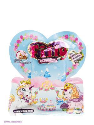 Лошадка коллекционная  Filly - Свадьба Dracco. Цвет: голубой