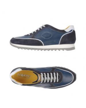 Низкие кеды и кроссовки CALPIERRE. Цвет: синий