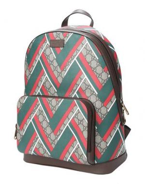 Рюкзаки и сумки на пояс GUCCI. Цвет: бежевый