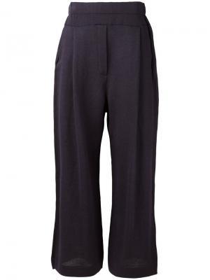 Свободные брюки Boboutic. Цвет: синий