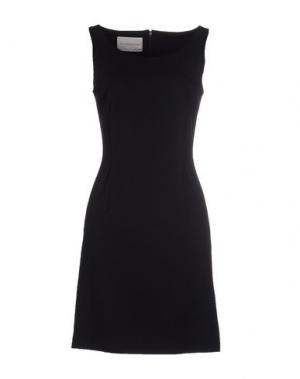 Короткое платье BLOCKINDUSTRIE. Цвет: темно-синий