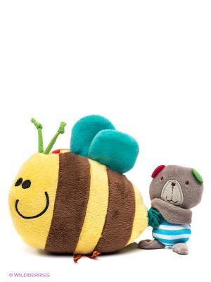 Развивающая игрушка bobby&friends. Цвет: желтый, коричневый