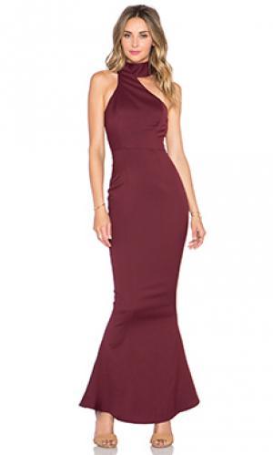 Платье bettina Elle Zeitoune. Цвет: вишня