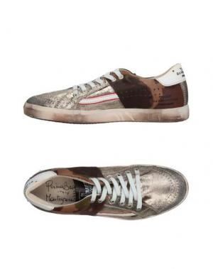 Низкие кеды и кроссовки PRIMABASE. Цвет: бронзовый