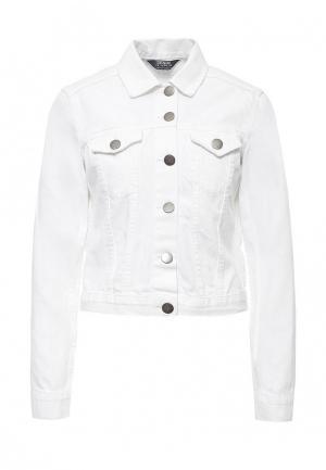 Куртка джинсовая Dorothy Perkins. Цвет: белый