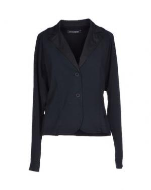 Пиджак EUROPEAN CULTURE. Цвет: темно-синий