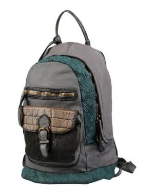 Рюкзаки и сумки на пояс CATERINA LUCCHI. Цвет: свинцово-серый