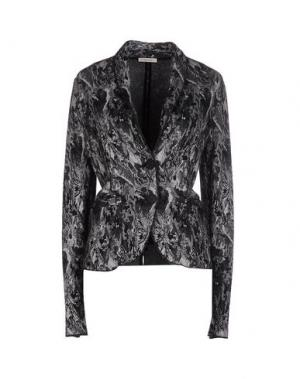 Пиджак DEVOTION. Цвет: стальной серый