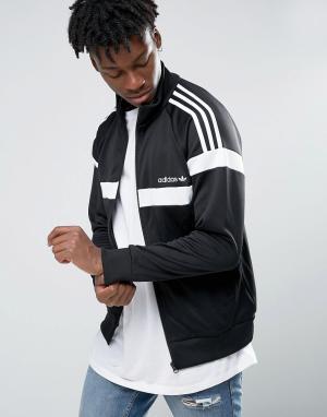Adidas Originals Спортивная куртка Itasca AY7767. Цвет: черный