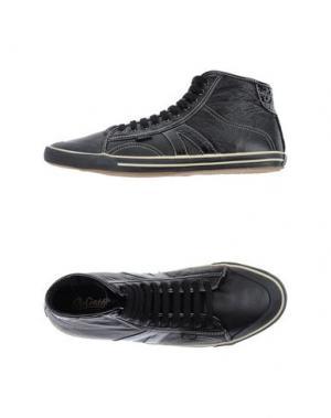 Высокие кеды и кроссовки GOLIATH. Цвет: черный