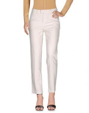 Повседневные брюки HAIKURE. Цвет: белый