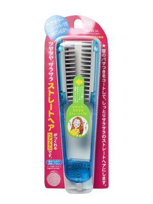 Щетка для выпрямления волос IKEMOTO. Цвет: прозрачный