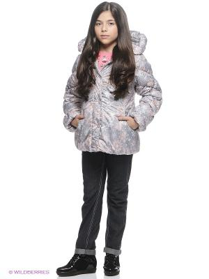 Куртка SAIMA. Цвет: серый