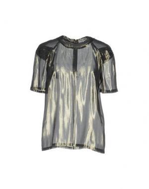 Блузка OPENING CEREMONY. Цвет: серый