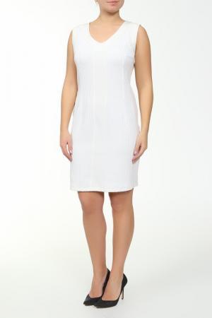 Платье Paola Joy. Цвет: белый