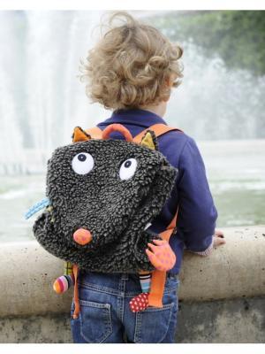 Рюкзачок Хитрый Волчонок Ebulobo. Цвет: черный, голубой, зеленый, оранжевый, серый, темно-серый