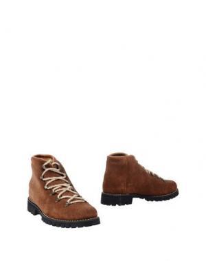 Полусапоги и высокие ботинки SWAMP. Цвет: коричневый