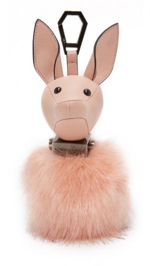 Подвеска на сумку Bambi KENDALL + KYLIE. Цвет: розовое облако