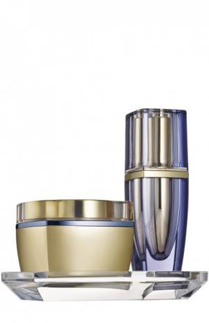 Крем и ночная сыворотка для лица Estée Lauder. Цвет: бесцветный