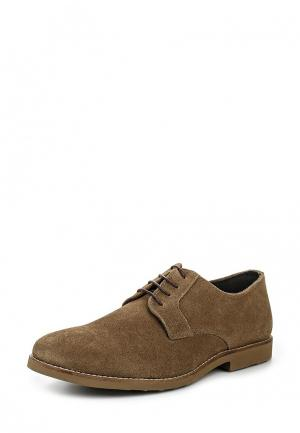 Туфли Celio. Цвет: коричневый