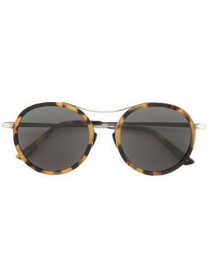 Солнцезащитные очки Rosso Sunday Somewhere. Цвет: чёрный