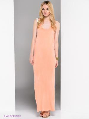Платье Religion. Цвет: персиковый