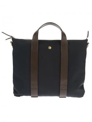 Contrast strap briefcase Mismo. Цвет: синий