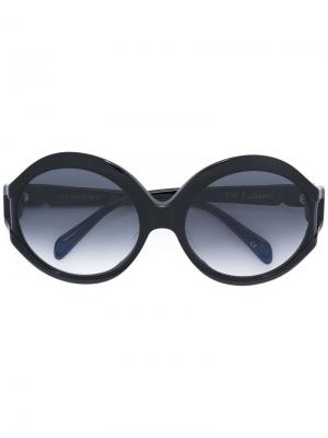 Солнцезащитные очки Glam Rock Sama Eyewear. Цвет: чёрный