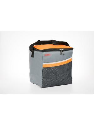 Сумка- термос  Classic 24 Can Cooler Thermos. Цвет: серый, оранжевый