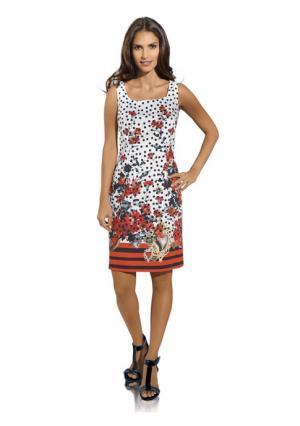Платье Ashley Brooke. Цвет: цветной